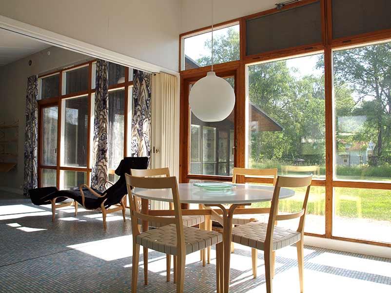 Besök glashusen av Bruno Mathson
