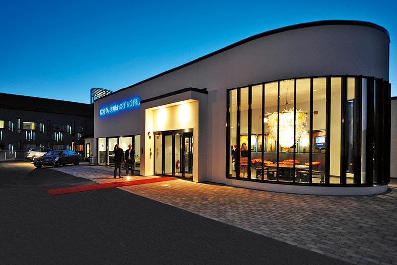 Glashotellet i Småland
