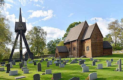 Sveriges äldst bevarade timmerbyggnad!