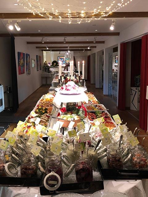 Julbord med smålands största variation av sill!