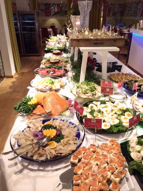 Traditionellt småländskt julbord
