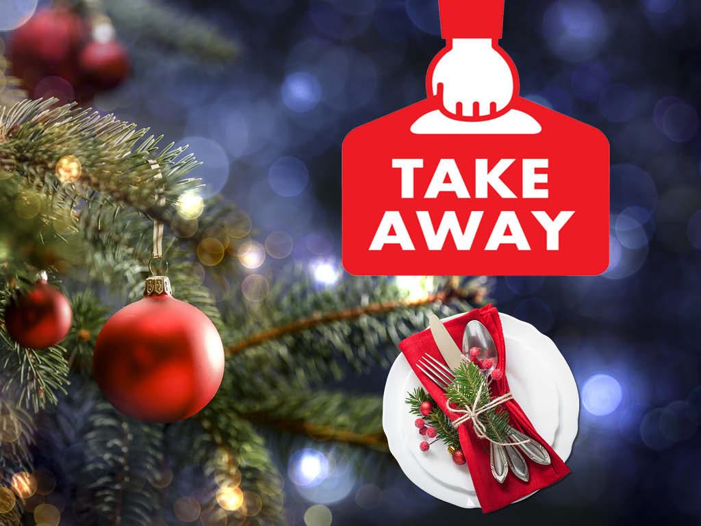 Nyhet för i år: julbord take away
