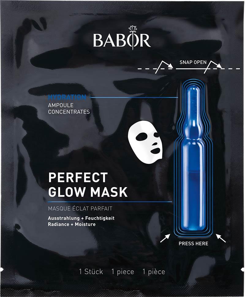 Paketet innehåller en ansiktsmask att nyttja i spa