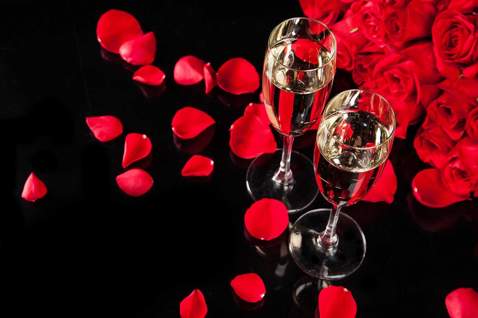 Romantisk spaweekend på alla hjärtans dag.